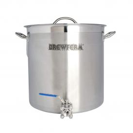 Brewferm homebrew kettle SST 35 l with ball valve (36 x 36 cm)