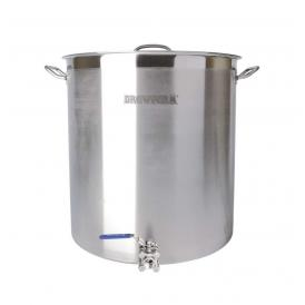 Brewferm homebrew kettle SST 143 l with ball valve (55 x 60 cm)