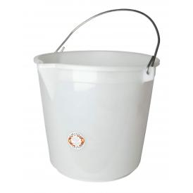 bucket white 25 l without lid + spout