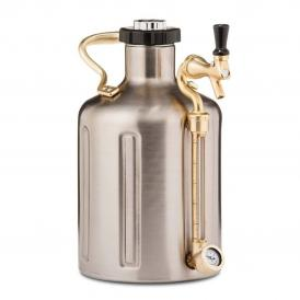 GrowlerWerks uKeg™ 128 stainless steel - 3.8 l