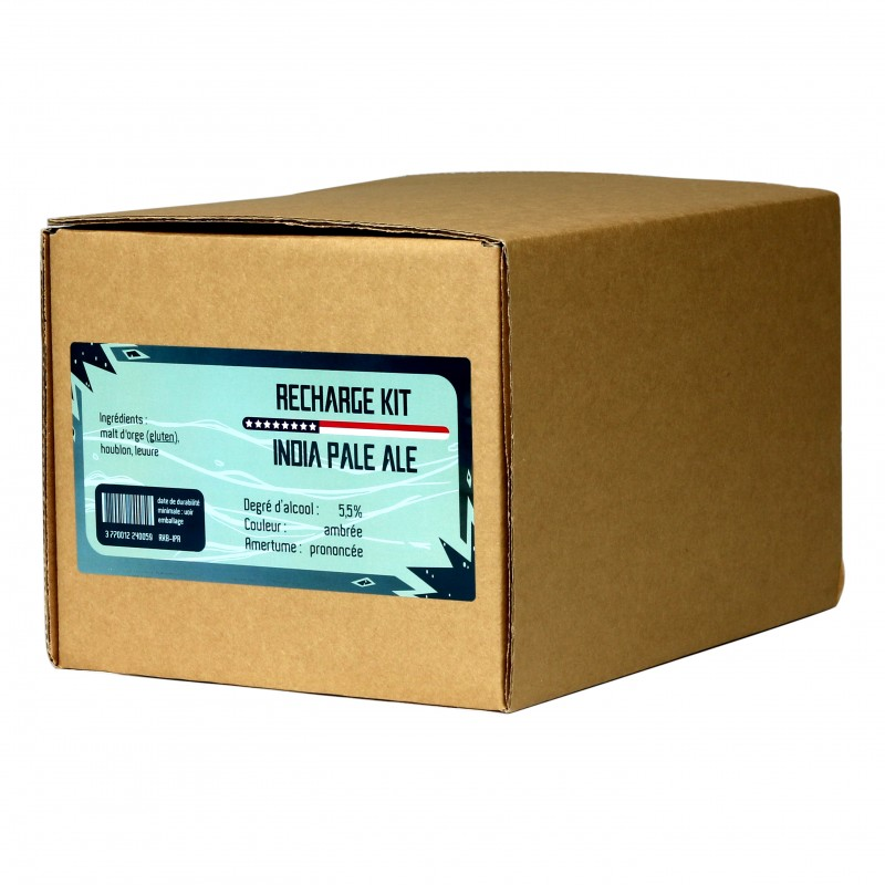 India Pale Ale kit refill for 8L
