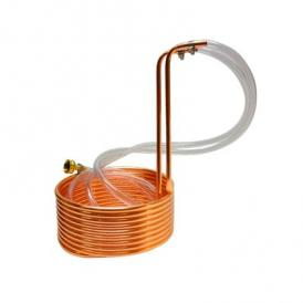 Compact wort-chiller copper immersion