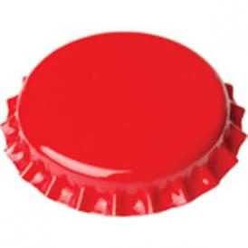 Crown caps 26mm - red