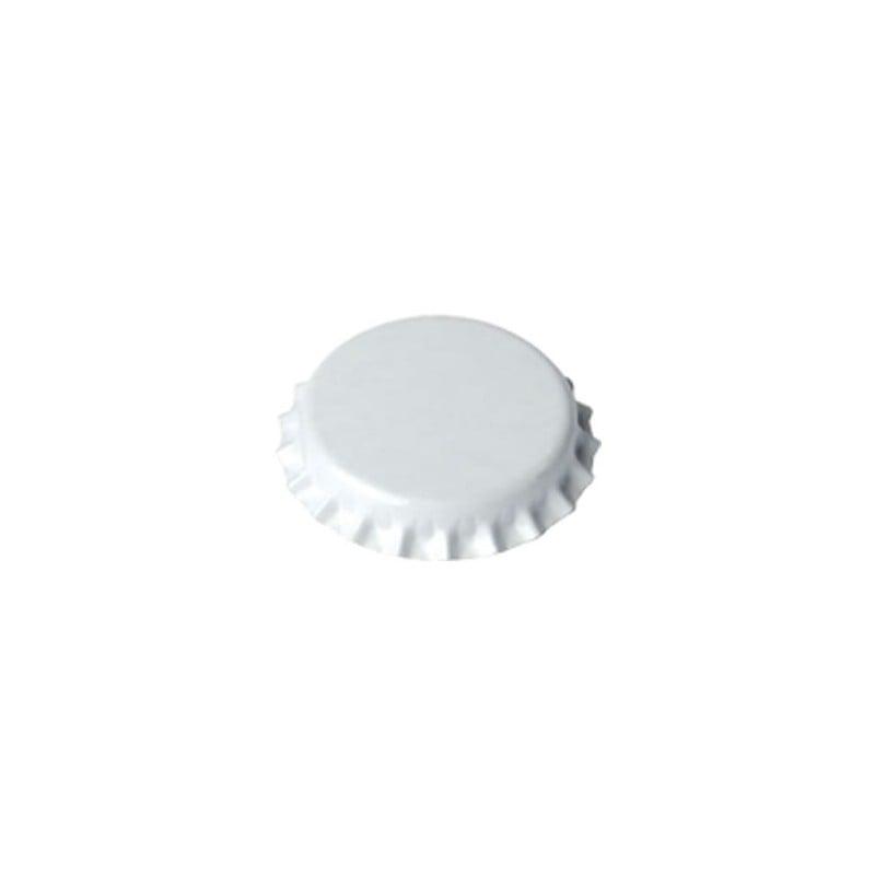 Crown caps 29mm - white Quantity 100